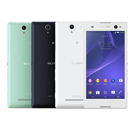 Xperia C3: Sony's First Selfie Smartphone Officially Revealed