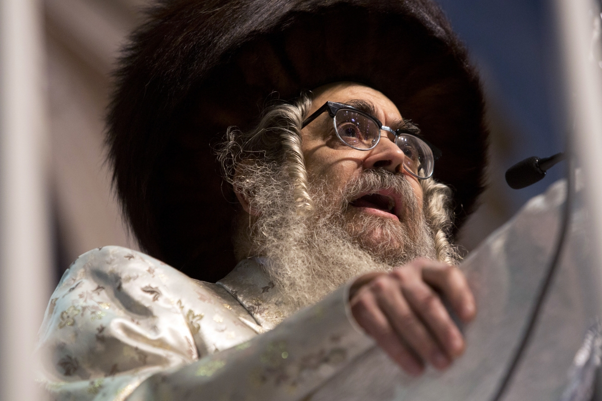 Satmar Hasidic Jews Grand Rabbi Aaron Teitelbaum