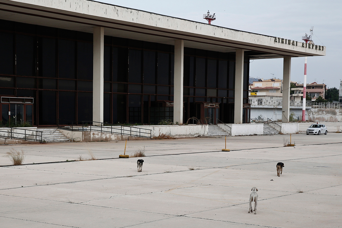 athens ghost airport