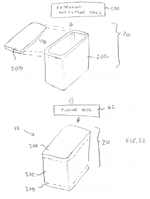 Apple all-glass patent application