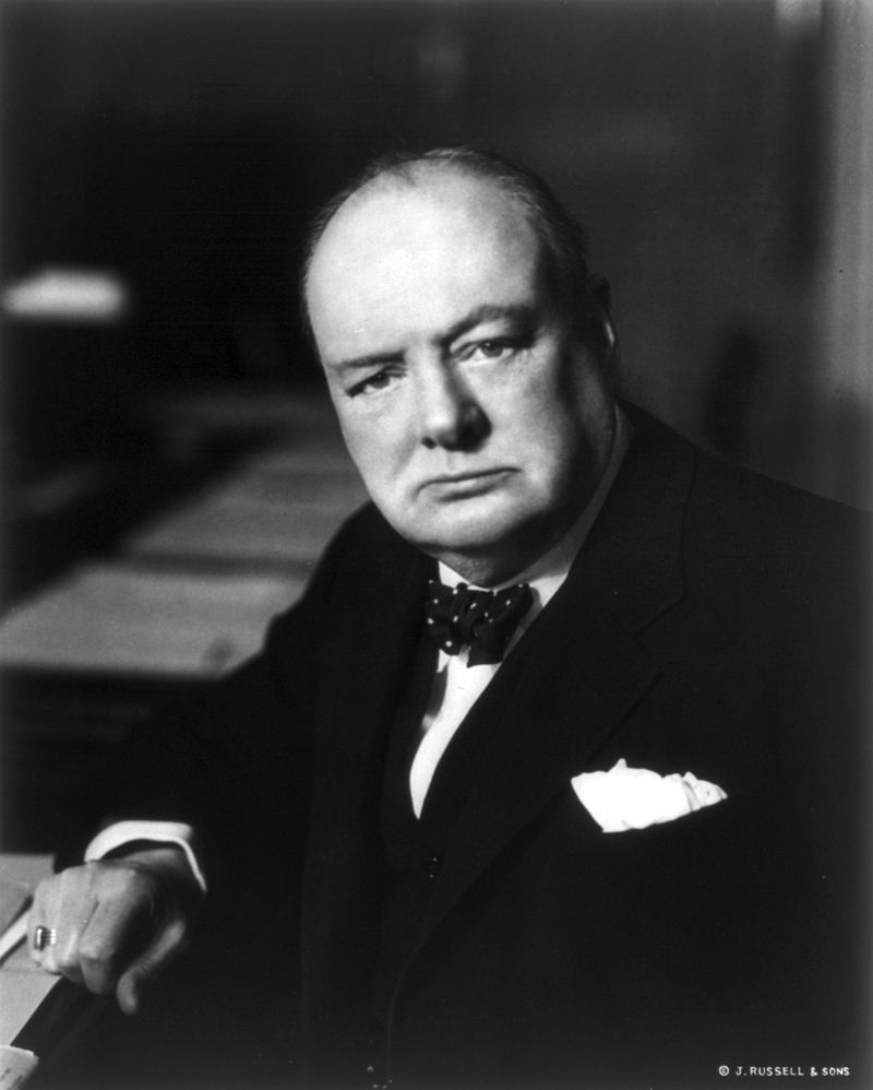 Sir Winston Churchill's relative implored him not to convert to Islam