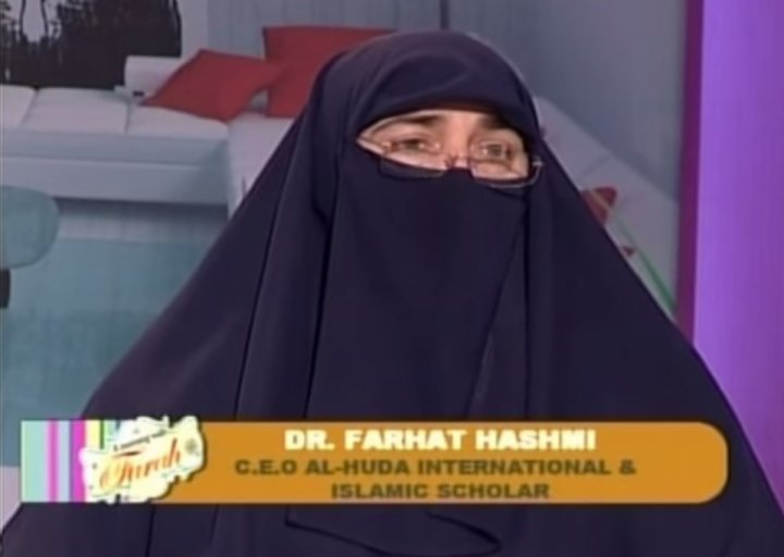 Dr Farhat Hashmi