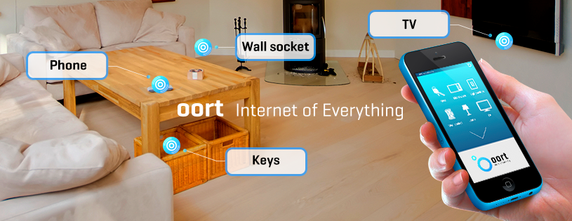 Oort - a smart home automation system that uses Low Energy Bluetooth to communicate with devices