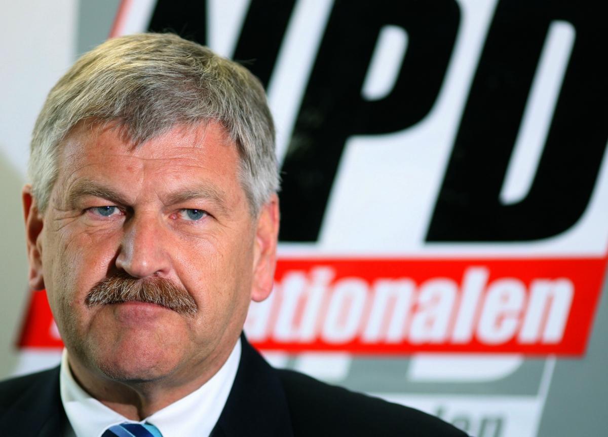 German neo-Nazi MEP Udo Voigt