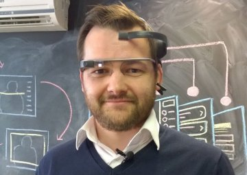 Controlling Google Glass With Your Mind