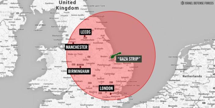 Gaza Strip relocated to King's Lynn near The Wash in IDF propaganda campaign