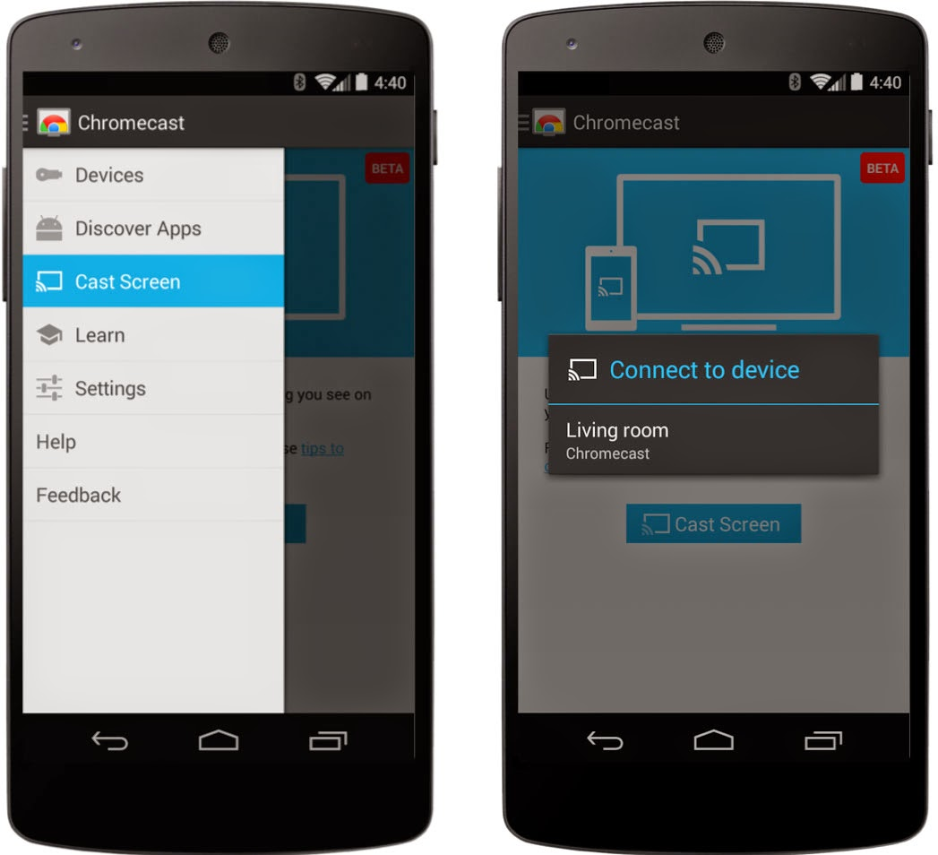 Chromecast v1.7.4 APK Brings Screen Casting or Mirroring on Devices Running Android 4.4.1 or Higher