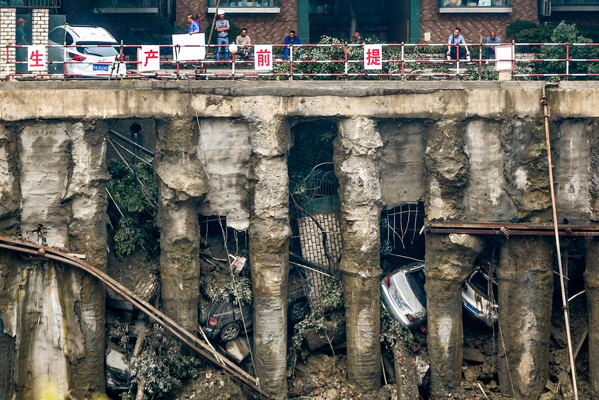 china landslide