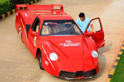 home made sports car china