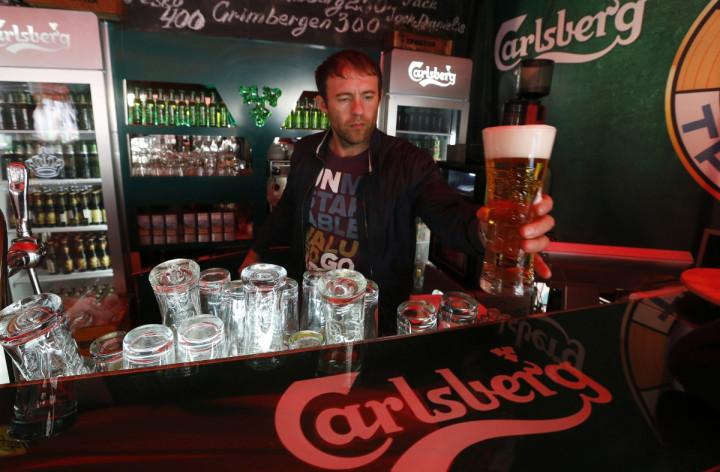 Russia Beer Carlsberg
