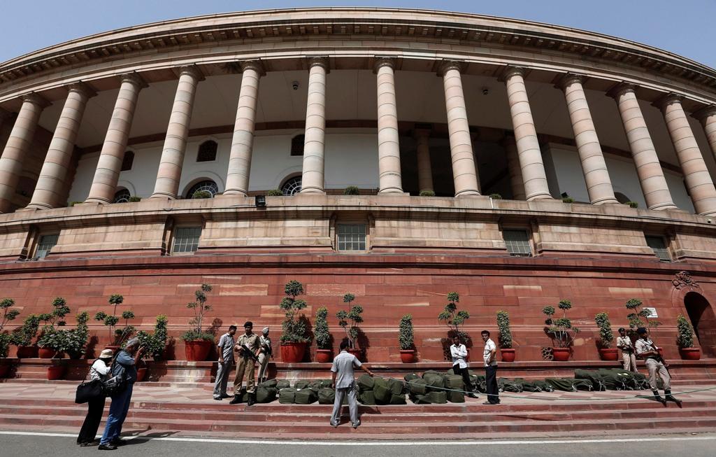 Parliament Building New Delhi India