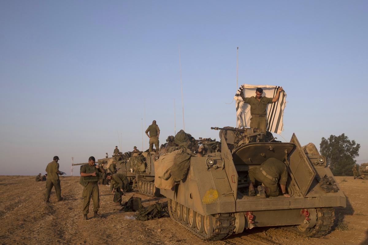 Israel military reservists