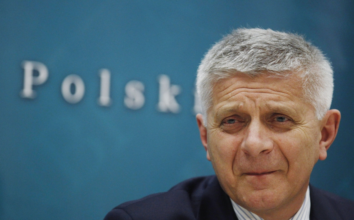 Marek Belka, Poland's central bank governor