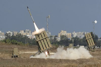 israel iron dome rocket