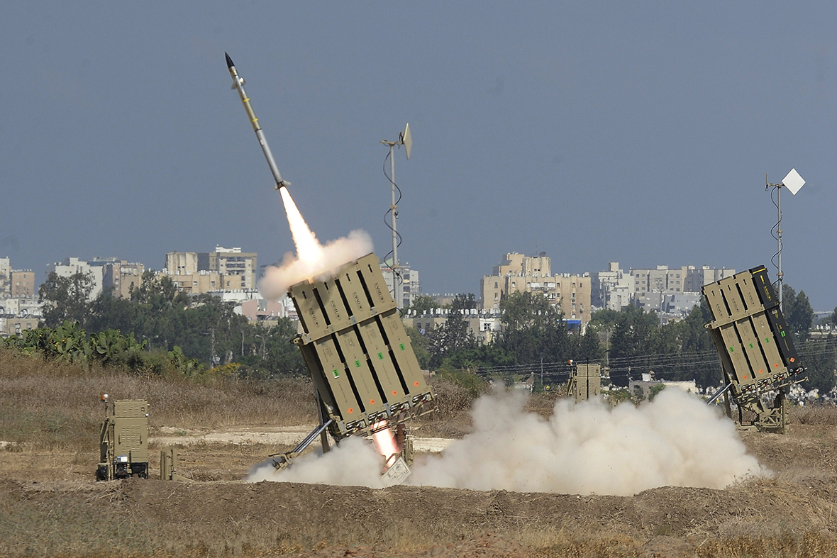 israel iron dome rocket