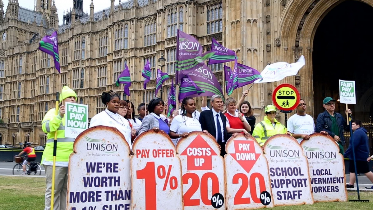 Unison Chief on the UK Public Sector Strike