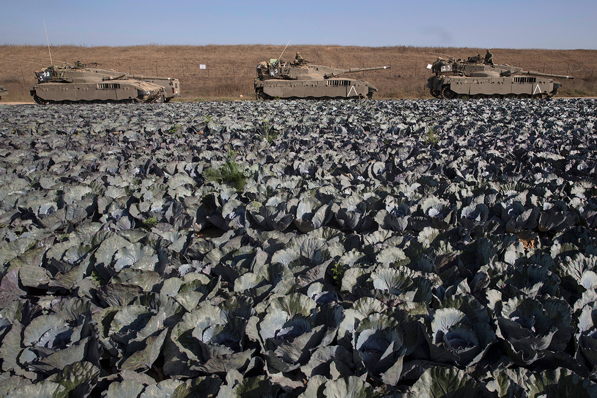 israel ground offensive gaza