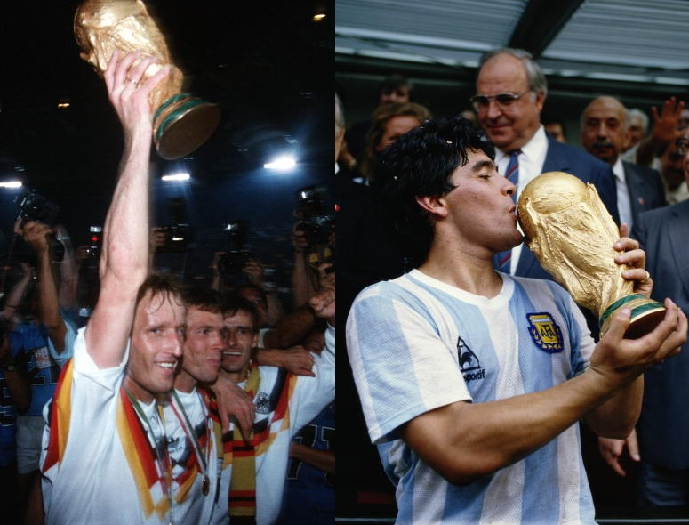 Germany and Argentina World Cup Winners