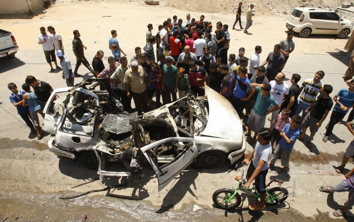 Gaza strike israel Hamas