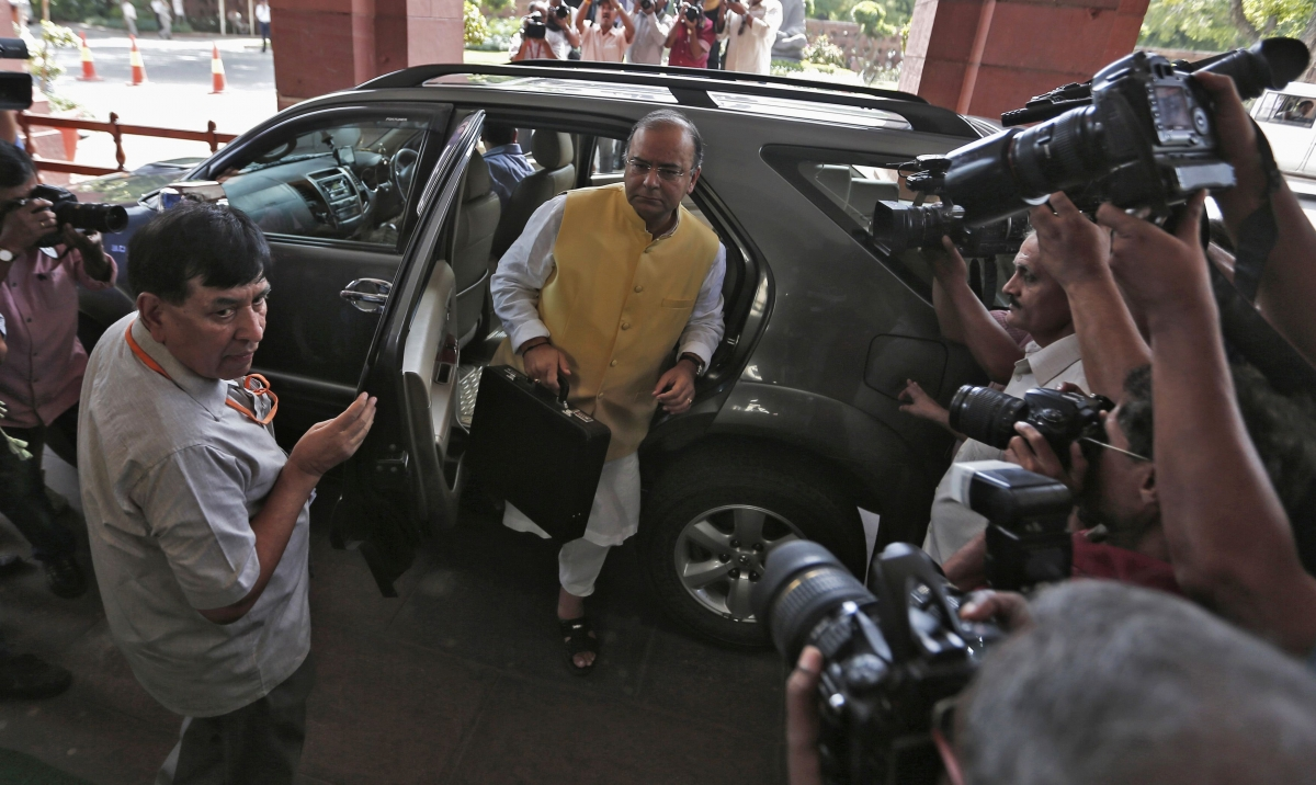 Modi Budgets for Growth, Aims to Curb Deficit