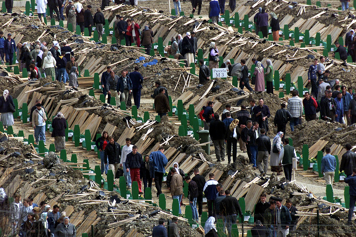 Srebrenica Massacre: Anniversary of 1995 Genocide Carried Out by Serb Forces During Bosnian War