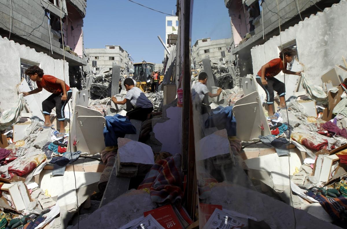 Israel Gaza Hamas Palestinians Khan Yunis
