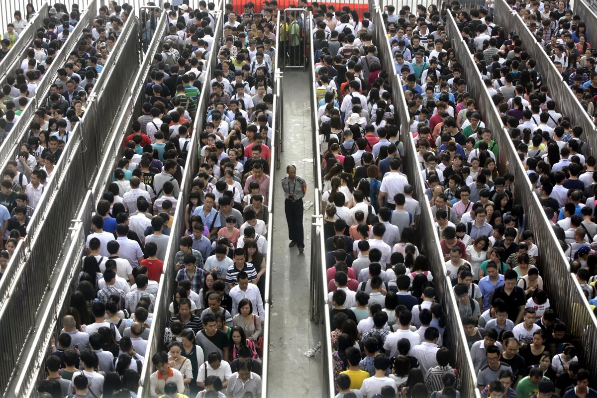 Overpopulation China