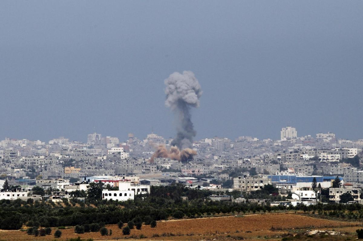 Gaza Israel Palestine Hamas strikes IDF