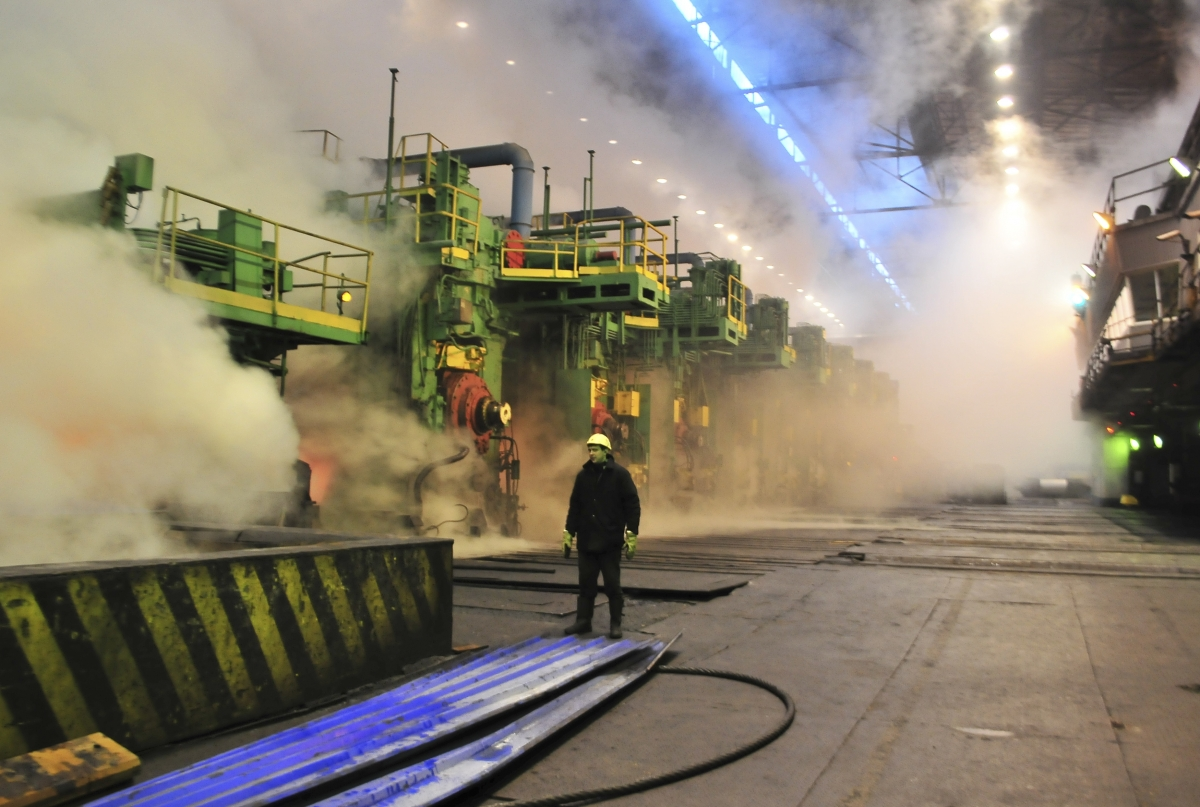Russia steel mill