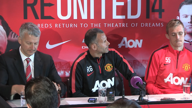 Giggs and Fletcher Look to Exciting New Season for Manchester Utd