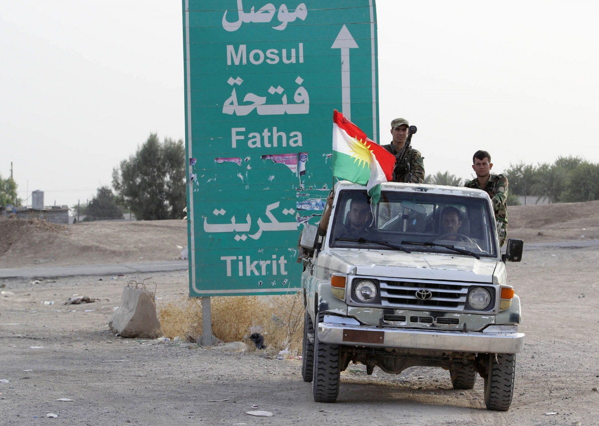 Kurdish forces Kirkuk