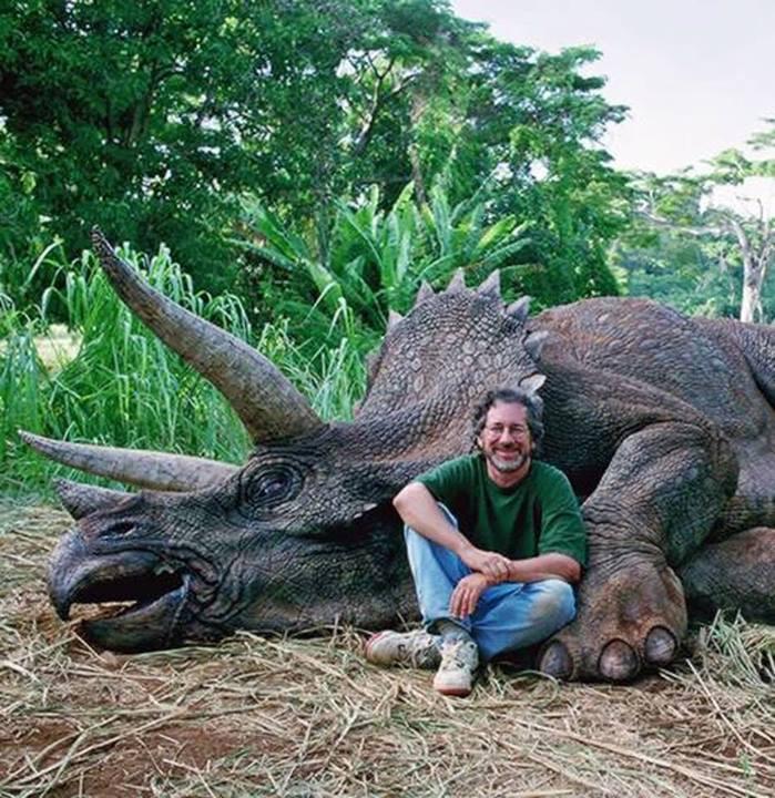 Triceratops Steven Spielberg Jurassic Park Jay Branscomb