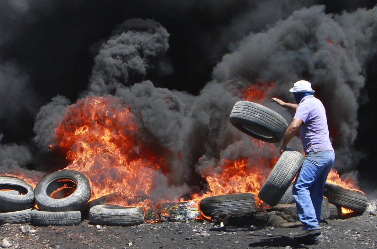 Israel Palestine Gaza West Bank Hamas protests clashes