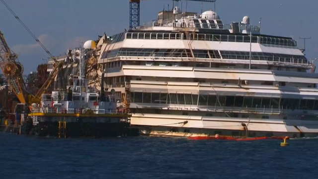 Greenpeace: Environment had Lucky Escape with Concordia Wreck