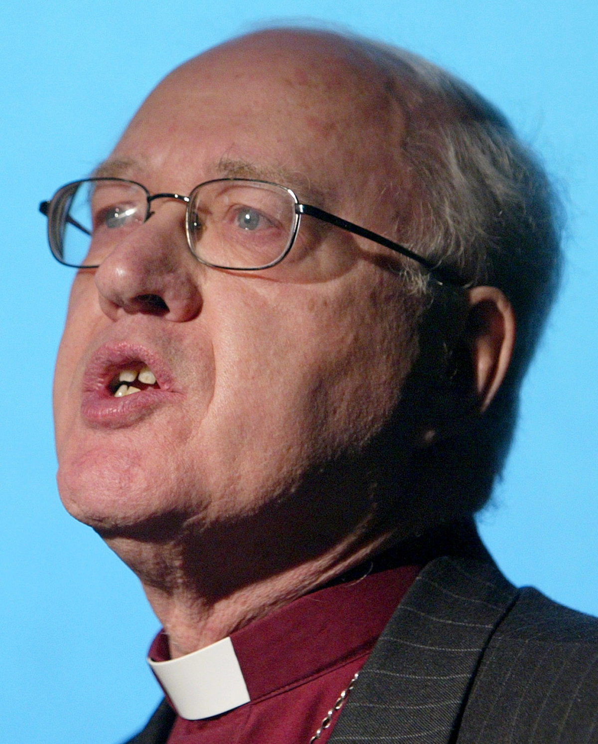 Former Archbishop of Canterbury Lord Carey (Reuters)