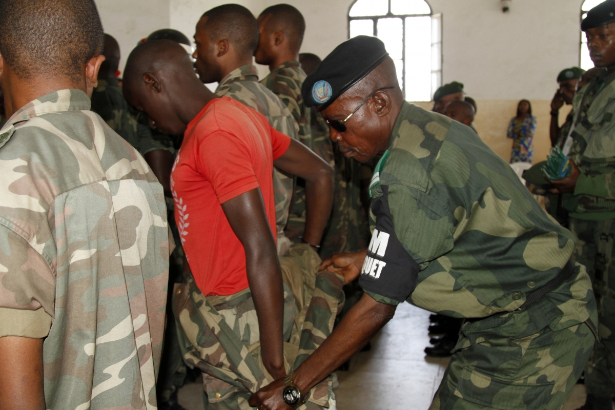 Court martial sentenced the 39 Congolese soldiers on counts of rape and murder committed in the course of the 2012 military offensive in North Kivu province.