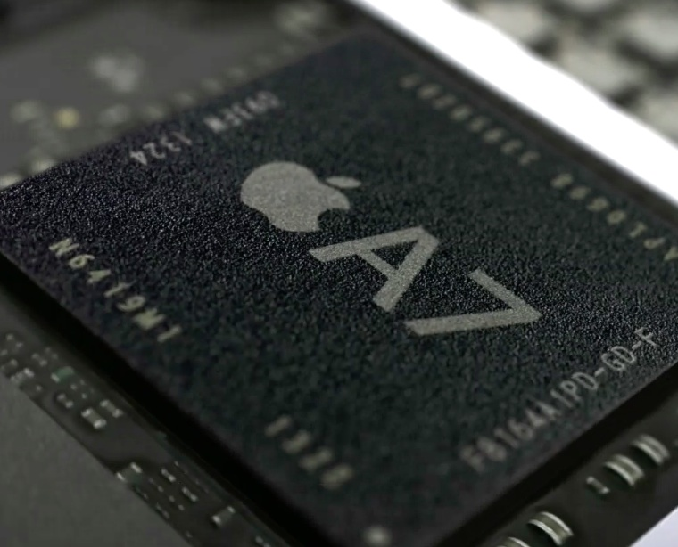 Apple's New 20nm A8 Chip Clocks over 2.0 GHz per Core and Beats A7 in Performance