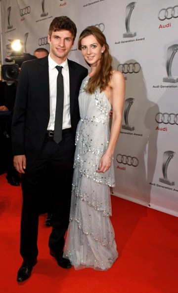 Thomas Mueller and his wife Lisa Trede now Muller, have been together since their teens. Lisa, who is a model is also a professional horse rider