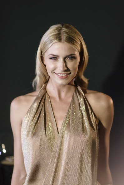Fashion model and television host Lena Gercke and Germany's Sami Khedira  make their relationship public in 2011.