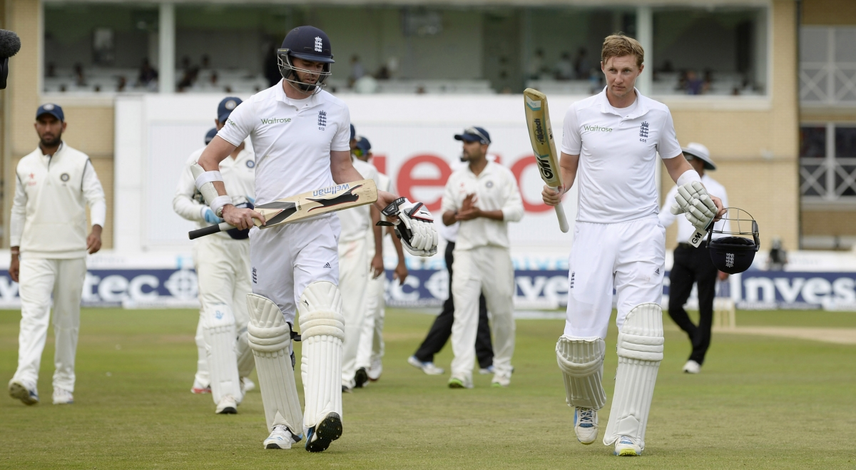 James Anderson and Joe Root