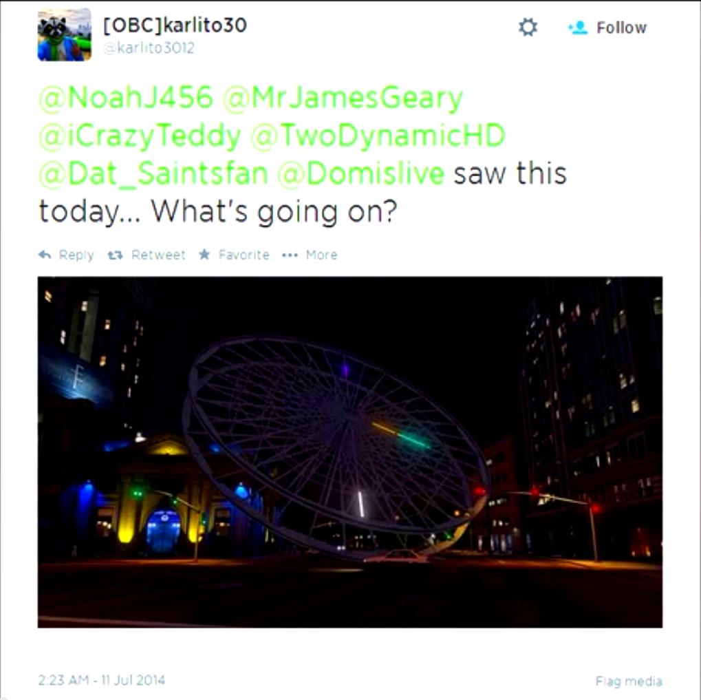 Insane Ferris Wheels Mod