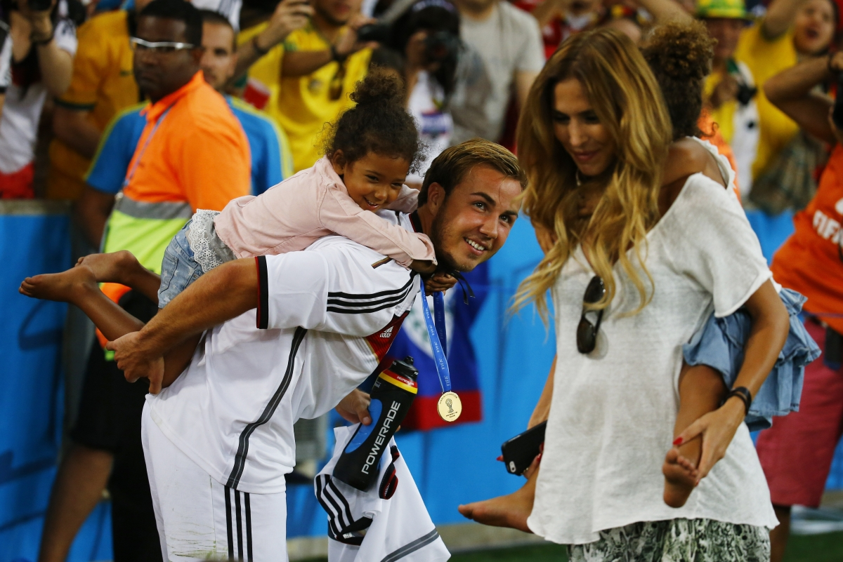 Watch: German Players Celebrate Their Historic World Cup Win with Family
