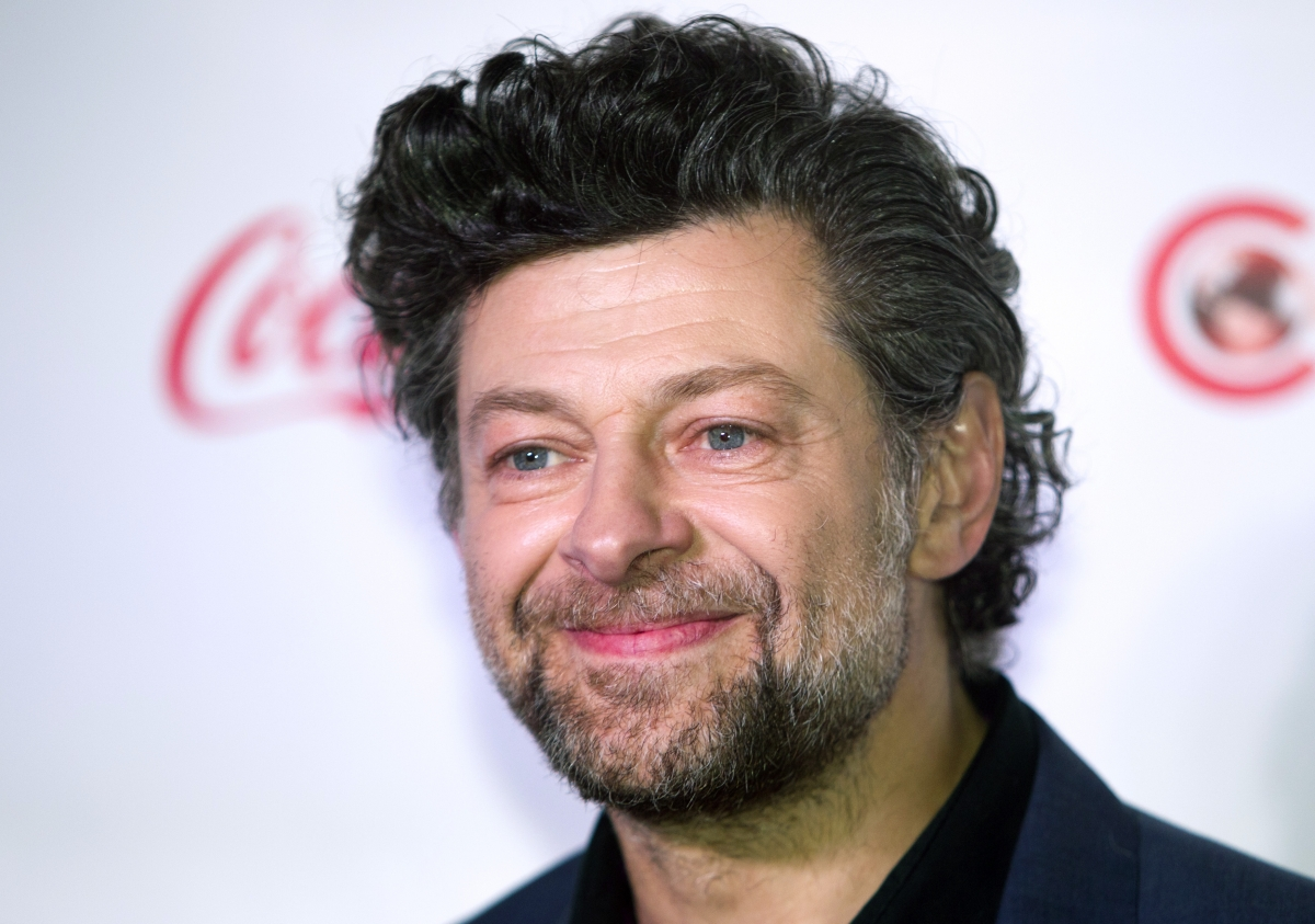 """Andy Serkis says Harrison Ford is a \""""trouper\"""""""