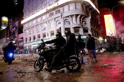 Buenos Aires World Cup riot Germany Argentina