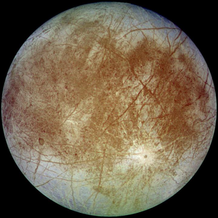 Europa Moon Jupiter