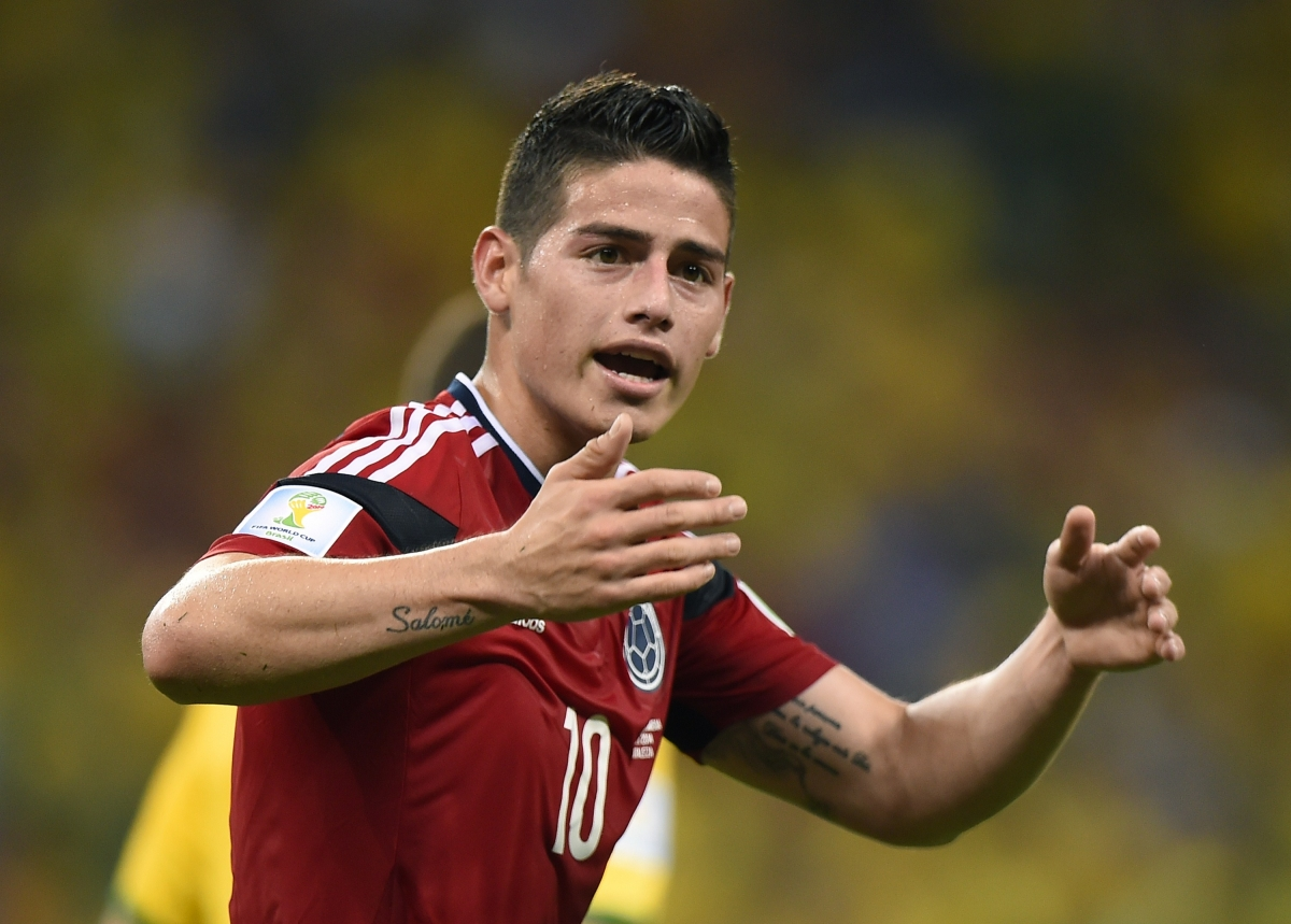 Real Madrid Agree Personal Terms with £63m James Rodriguez - Report
