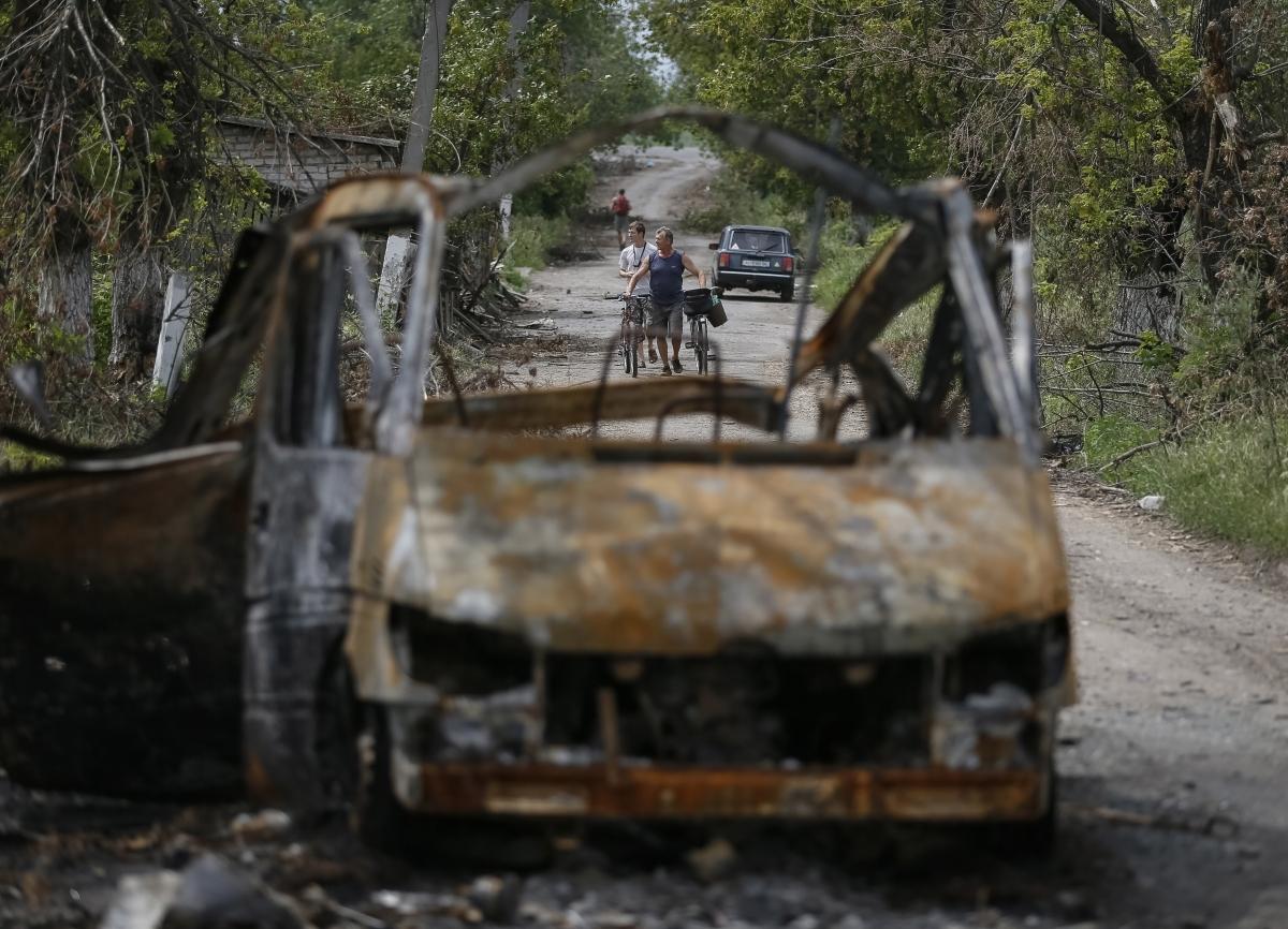Ukraine Russia War Shelling