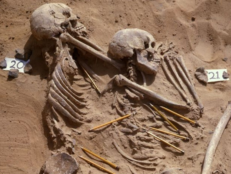 Sudan skeletons race war