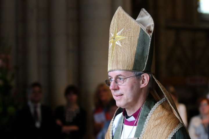 Justin Welby Archbishop of Canterbury migrants