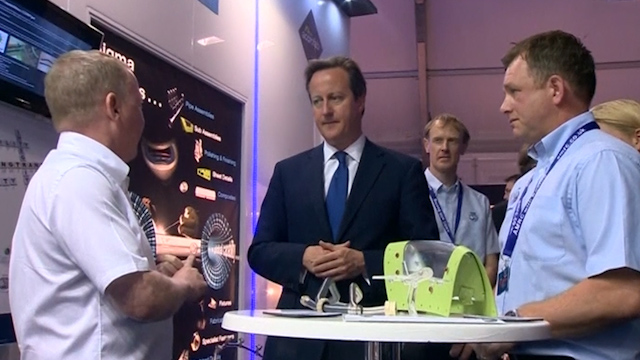 Cameron Announces £1.1bn Investment in Defence Equipment